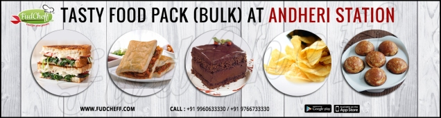 order snacks in train at andheri junction with fudcheff